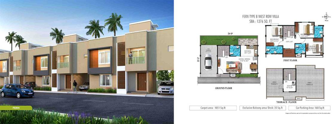 Humming Gardens villas in Chennai OMR